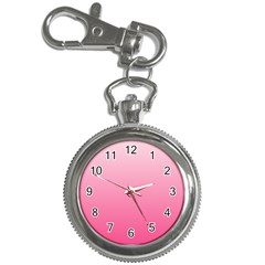 Piggy Pink To French Rose Gradient Key Chain & Watch