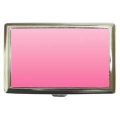 Piggy Pink To French Rose Gradient Cigarette Money Case