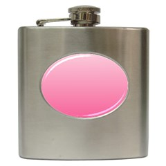 Piggy Pink To French Rose Gradient Hip Flask