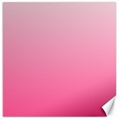 Piggy Pink To French Rose Gradient Canvas 12  x 12  (Unframed)