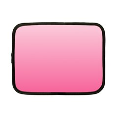 Piggy Pink To French Rose Gradient Netbook Case (small)