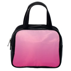 Piggy Pink To French Rose Gradient Classic Handbag (One Side)