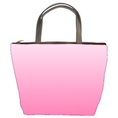 Piggy Pink To French Rose Gradient Bucket Bag