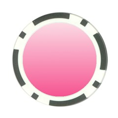 Piggy Pink To French Rose Gradient Poker Chip 10 Pack