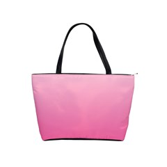 Piggy Pink To French Rose Gradient Large Shoulder Bag