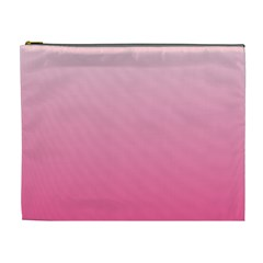 Piggy Pink To French Rose Gradient Cosmetic Bag (XL)
