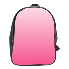 Piggy Pink To French Rose Gradient School Bag (Large)