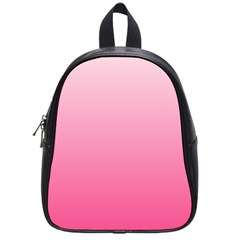 Piggy Pink To French Rose Gradient School Bag (Small)