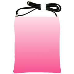 Piggy Pink To French Rose Gradient Shoulder Sling Bag