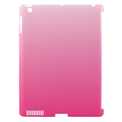 Piggy Pink To French Rose Gradient Apple Ipad 3/4 Hardshell Case (compatible With Smart Cover)
