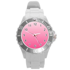 Piggy Pink To French Rose Gradient Plastic Sport Watch (Large)