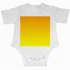 Chrome Yellow To Yellow Gradient Infant Creeper