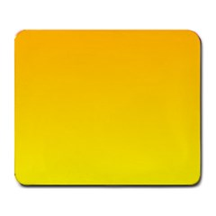 Chrome Yellow To Yellow Gradient Large Mouse Pad (rectangle)