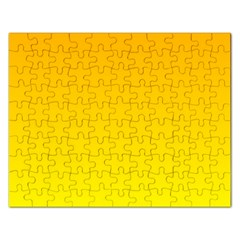 Chrome Yellow To Yellow Gradient Jigsaw Puzzle (Rectangle)