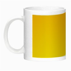 Chrome Yellow To Yellow Gradient Glow in the Dark Mug
