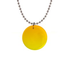 Chrome Yellow To Yellow Gradient Button Necklace