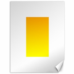Chrome Yellow To Yellow Gradient Canvas 36  x 48  (Unframed)