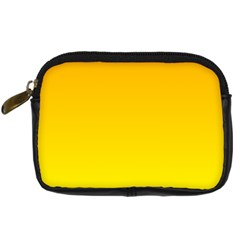 Chrome Yellow To Yellow Gradient Digital Camera Leather Case