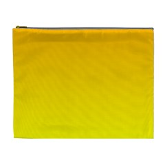 Chrome Yellow To Yellow Gradient Cosmetic Bag (XL)