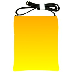 Chrome Yellow To Yellow Gradient Shoulder Sling Bag
