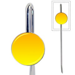 Chrome Yellow To Yellow Gradient Bookmark