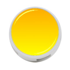 Chrome Yellow To Yellow Gradient 4 Port Usb Hub (two Sides)