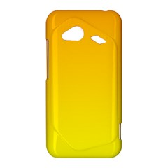 Chrome Yellow To Yellow Gradient HTC Droid Incredible Hardshell Case