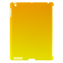 Chrome Yellow To Yellow Gradient Apple Ipad 3/4 Hardshell Case (compatible With Smart Cover)