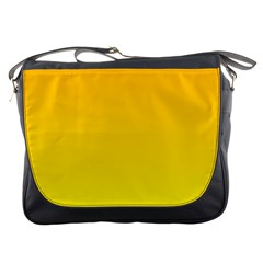 Chrome Yellow To Yellow Gradient Messenger Bag