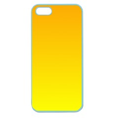 Chrome Yellow To Yellow Gradient Apple Seamless Iphone 5 Case (color)