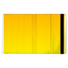 Chrome Yellow To Yellow Gradient Apple iPad 3/4 Flip Case