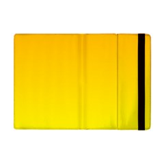 Chrome Yellow To Yellow Gradient Apple iPad Mini Flip Case