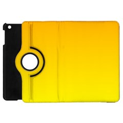 Chrome Yellow To Yellow Gradient Apple iPad Mini Flip 360 Case