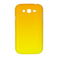 Chrome Yellow To Yellow Gradient Samsung Galaxy Grand DUOS I9082 Hardshell Case