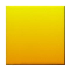 Yellow To Chrome Yellow Gradient Ceramic Tile