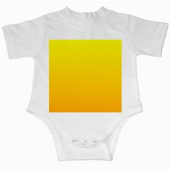 Yellow To Chrome Yellow Gradient Infant Creeper
