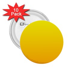 Yellow To Chrome Yellow Gradient 2 25  Button (10 Pack)