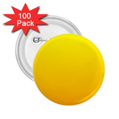 Yellow To Chrome Yellow Gradient 2 25  Button (100 Pack)