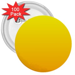 Yellow To Chrome Yellow Gradient 3  Button (100 Pack)
