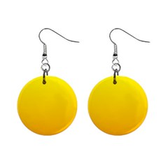 Yellow To Chrome Yellow Gradient Mini Button Earrings
