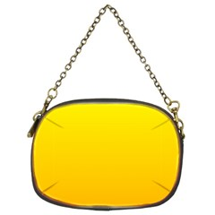 Yellow To Chrome Yellow Gradient Chain Purse (Two Side)