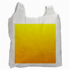 Yellow To Chrome Yellow Gradient Recycle Bag (Two Sides)
