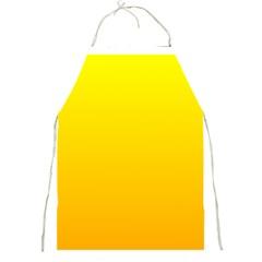 Yellow To Chrome Yellow Gradient Apron