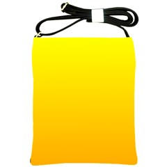 Yellow To Chrome Yellow Gradient Shoulder Sling Bag