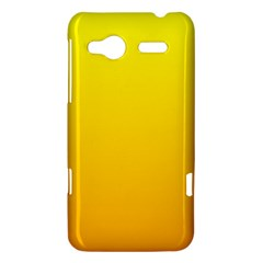 Yellow To Chrome Yellow Gradient HTC Radar Hardshell Case