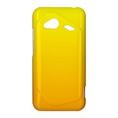 Yellow To Chrome Yellow Gradient HTC Droid Incredible Hardshell Case