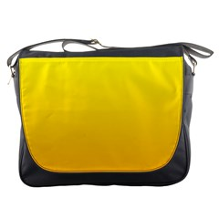 Yellow To Chrome Yellow Gradient Messenger Bag