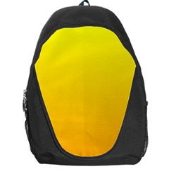 Yellow To Chrome Yellow Gradient Backpack Bag
