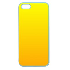 Yellow To Chrome Yellow Gradient Apple Seamless Iphone 5 Case (color)