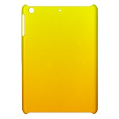 Yellow To Chrome Yellow Gradient Apple iPad Mini Hardshell Case